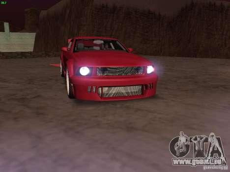 Ford Mustang GT 2005 Tuned für GTA San Andreas Motor