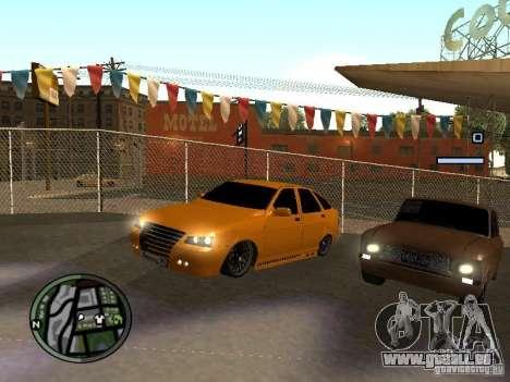 Lada Priora DagStailing für GTA San Andreas