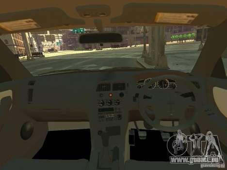 Nissan Skyline GT-R V-Spec (R33) für GTA 4 Rückansicht