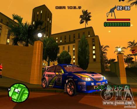 DiRT 2 Subaru Impreza WRX STi für GTA San Andreas