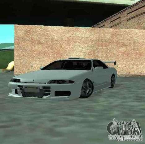 Nissan Skyline R32 GT-R pour GTA San Andreas vue de côté