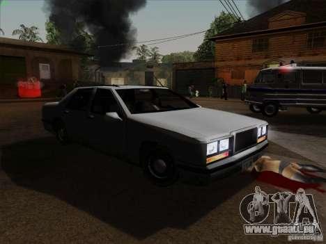 New Elegant für GTA San Andreas Rückansicht