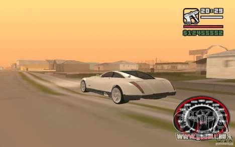 Maybach Exelero pour GTA San Andreas laissé vue