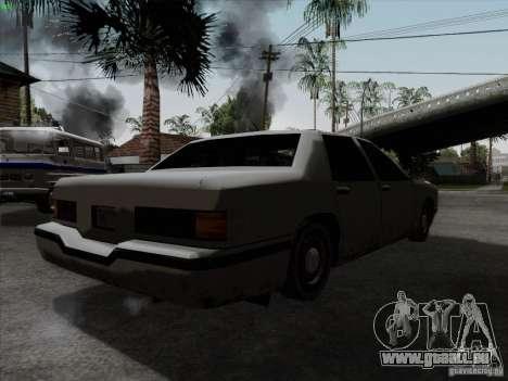 New Elegant für GTA San Andreas zurück linke Ansicht