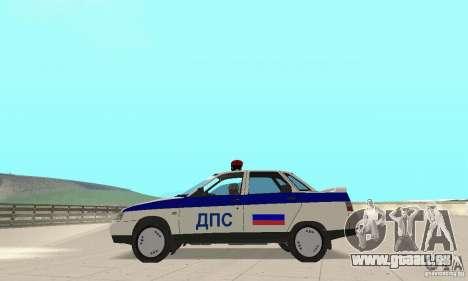 VAZ 2110 DPS für GTA San Andreas rechten Ansicht