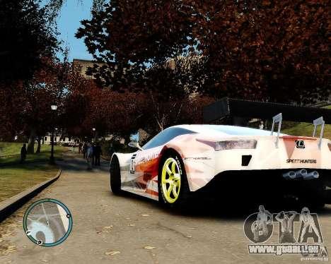 Lexus LFA Speedhunters Edition für GTA 4 hinten links Ansicht