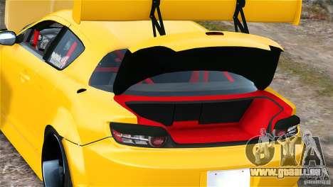 Mazda RX-8 Mad Mike pour GTA 4 est une vue de l'intérieur