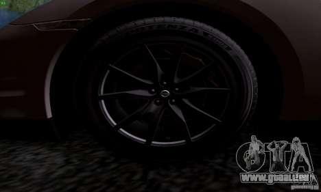 Nissan GTR R35 Tuneable pour GTA San Andreas sur la vue arrière gauche