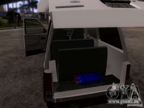 Plymouth Grand Voyager 1970 pour GTA San Andreas vue intérieure