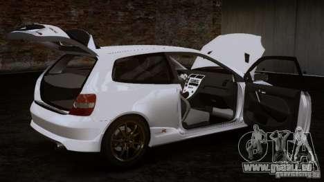 Honda Civic Type-R (EP3) pour GTA 4 Vue arrière de la gauche