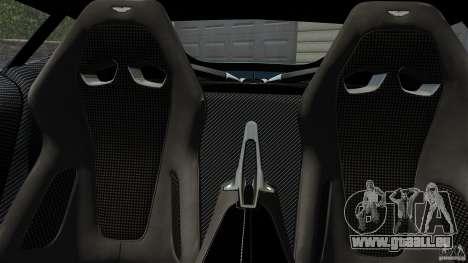 Aston Martin One-77 2012 für GTA 4 rechte Ansicht