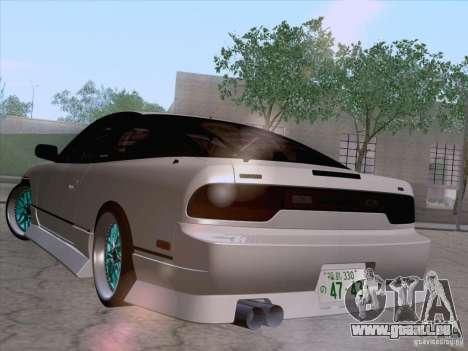 Nissan 240SX V2 pour GTA San Andreas laissé vue