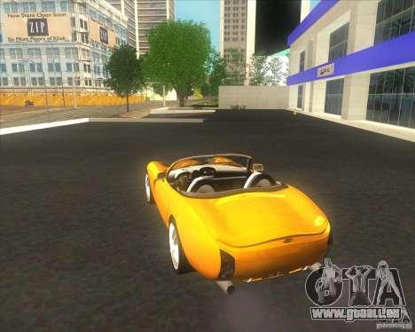 TVR Tuscan pour GTA San Andreas laissé vue