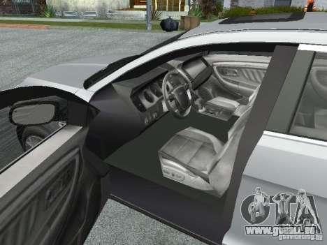 Ford Taurus für GTA San Andreas Rückansicht