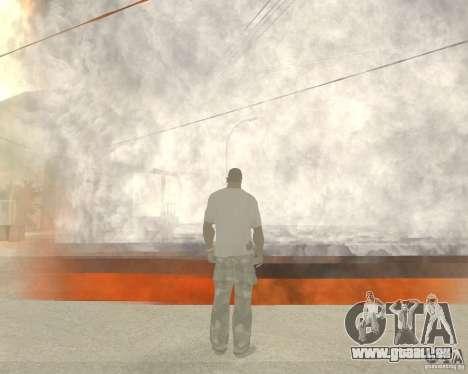 Tornade pour GTA San Andreas troisième écran