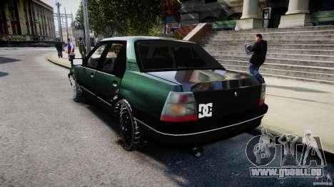 Chevrolet Monza GLS 96 pour GTA 4 Vue arrière de la gauche