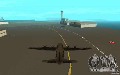 C-130 From Black Ops für GTA San Andreas rechten Ansicht