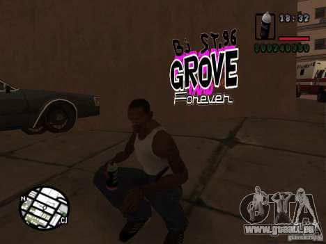 Nouveaux gangs de graffiti pour GTA San Andreas quatrième écran