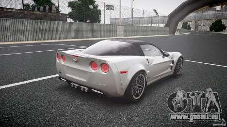 Chevrolet Corvette ZR1 2009 pour GTA 4 est un côté