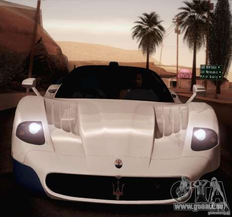 Maserati MC12 V1.0 pour GTA San Andreas