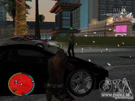 GTA IV HUD v2 by shama123 pour GTA San Andreas troisième écran