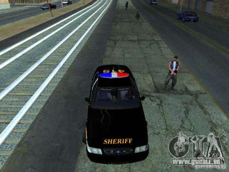 Ford Crown Victoria Erie County Sheriffs Office für GTA San Andreas linke Ansicht