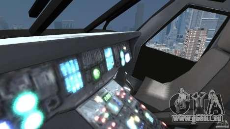 Sikorsky UH-60 Black Hawk für GTA 4 Innenansicht