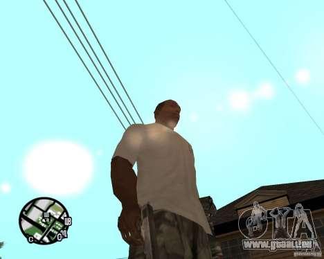 Normale Hände CJâ für GTA San Andreas dritten Screenshot