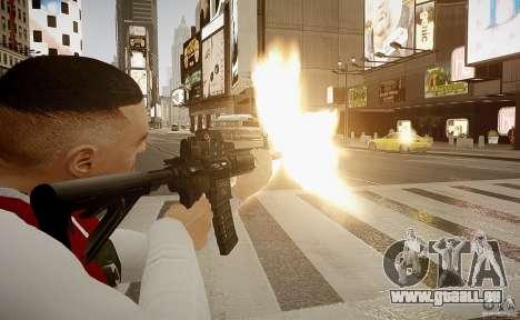 Das HK416 (automatisch) für GTA 4 fünften Screenshot