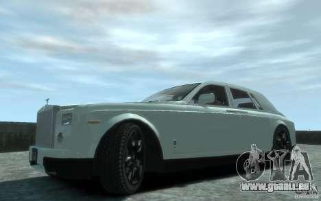 Rolls-Royce Phantom pour GTA 4 est une gauche