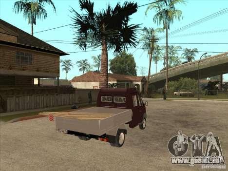 GAZ 33023 pour GTA San Andreas vue de droite