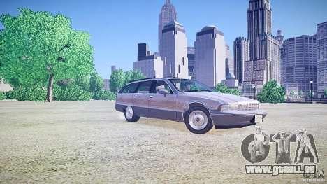 Chevrolet Caprice Civil 1992 v1.0 für GTA 4