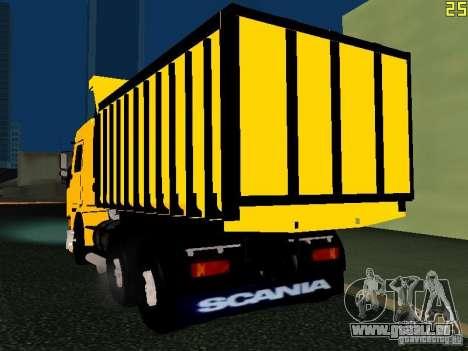 Scania 113H pour GTA San Andreas laissé vue