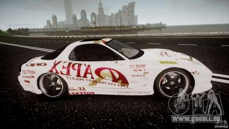 Mazda RX7 FD Apex Imamura für GTA 4 Innenansicht