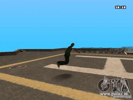Parkour Mod für GTA San Andreas zwölften Screenshot