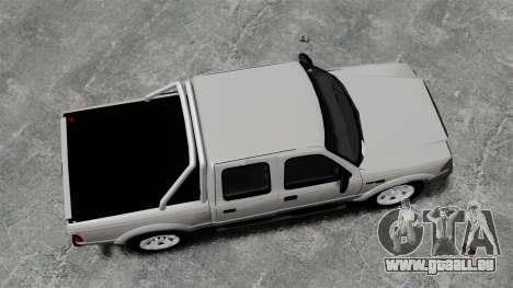 Ford Ranger 2008 XLR pour GTA 4 est un droit