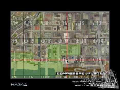 Immeuble neuf dans LS pour GTA San Andreas sixième écran