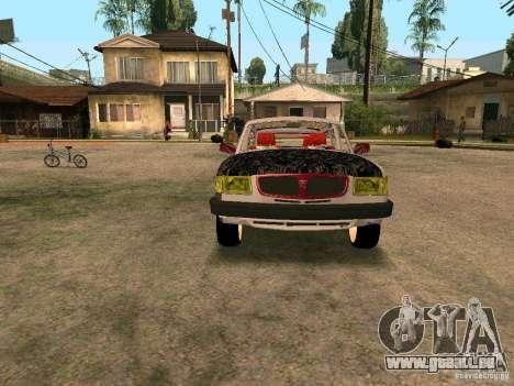 GAZ Volga 310221 für GTA San Andreas Innenansicht