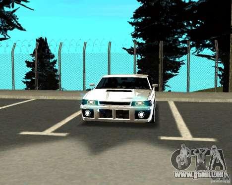 Azik Sultan pour GTA San Andreas vue intérieure