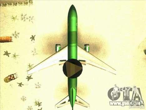 Boeing E-767 pour GTA San Andreas vue intérieure