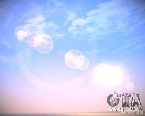 Real Clouds HD für GTA San Andreas her Screenshot