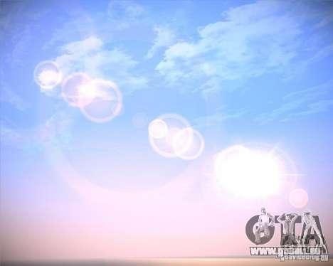 Real Clouds HD pour GTA San Andreas quatrième écran