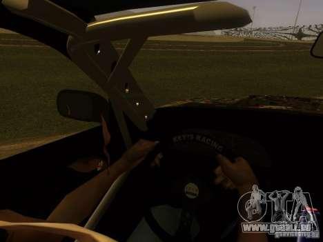 Nissan 240sx Street Drift für GTA San Andreas obere Ansicht