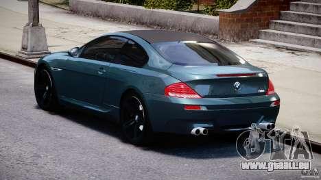 BMW M6 2010 v1.5 pour GTA 4 est un côté