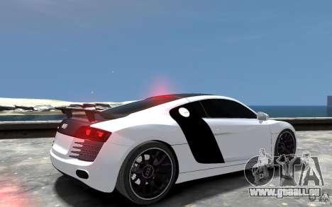 Audi R8 2008 Beta für GTA 4 rechte Ansicht