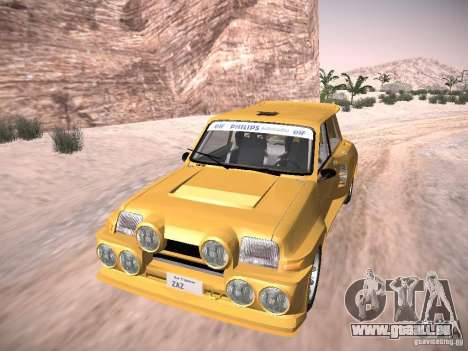 Renault 5 Turbo pour GTA San Andreas