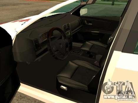 Cadillac CTS 2003 Tunable pour GTA San Andreas sur la vue arrière gauche