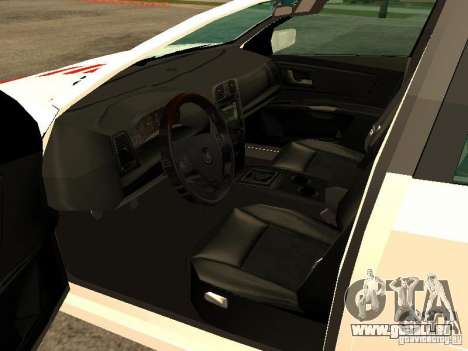Cadillac CTS 2003 Tunable für GTA San Andreas zurück linke Ansicht