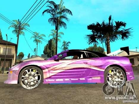Mitsubishi Spider für GTA San Andreas linke Ansicht