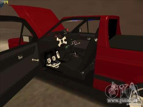Volkswagen Saveiro Summer für GTA San Andreas Innenansicht